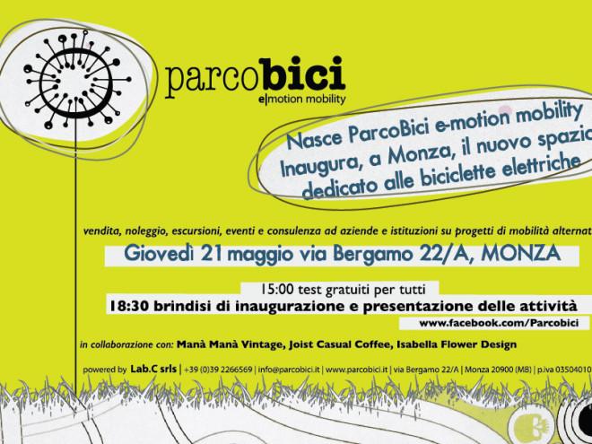 Invito Opening ParcoBici
