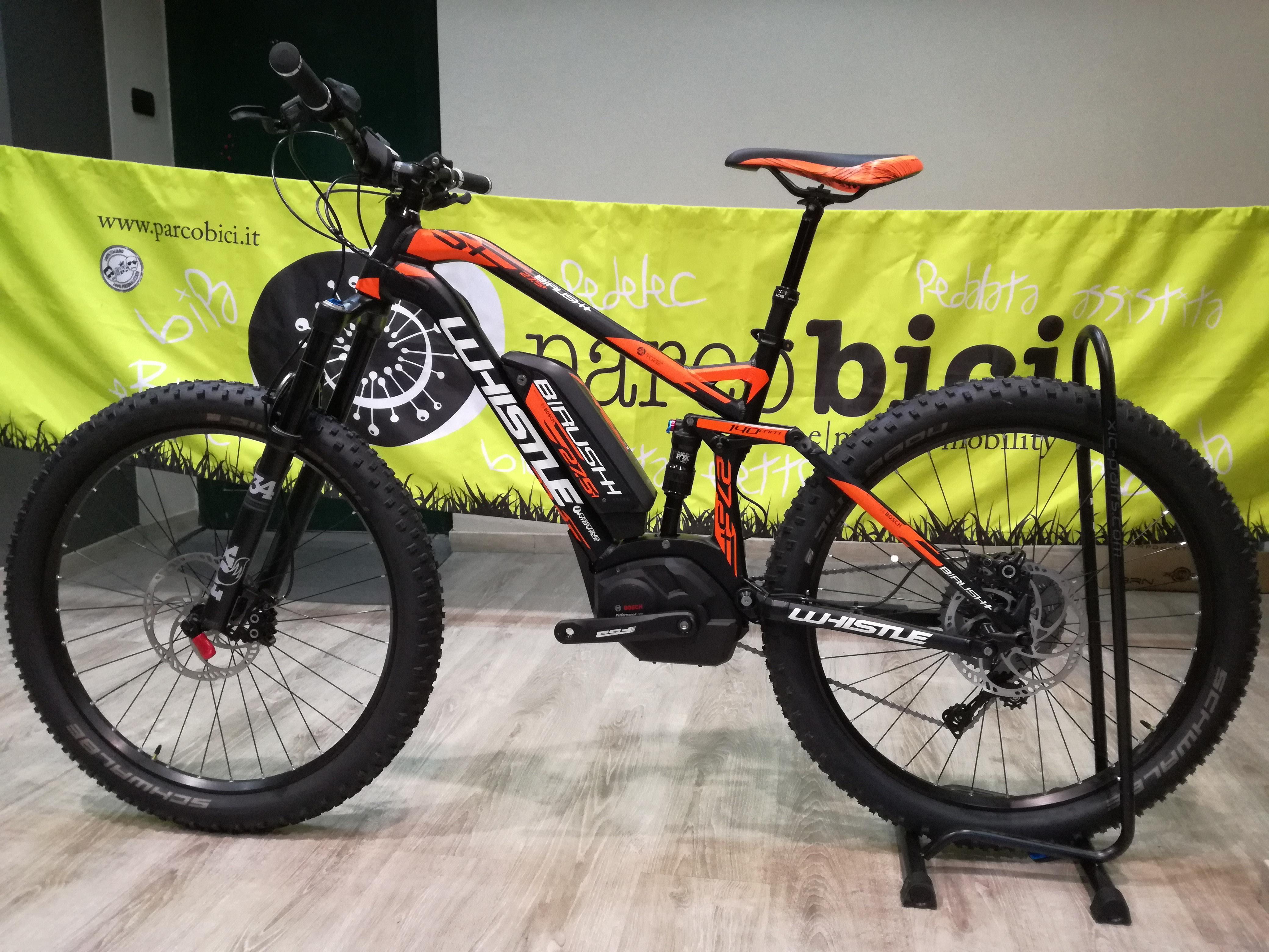 Whistle B Rush Plus Ltd Parcobici Biciclette Elettriche