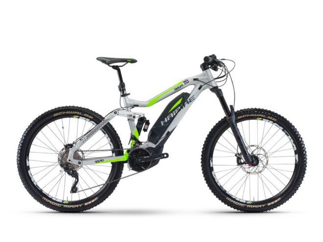 SDURO NDURO 7.0 500Wh 20v XT 17 HB YXC argento:verde:nero opaco
